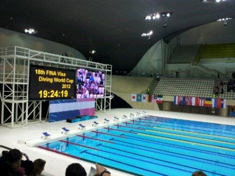 Aquatic Centre - Olympic Stadium