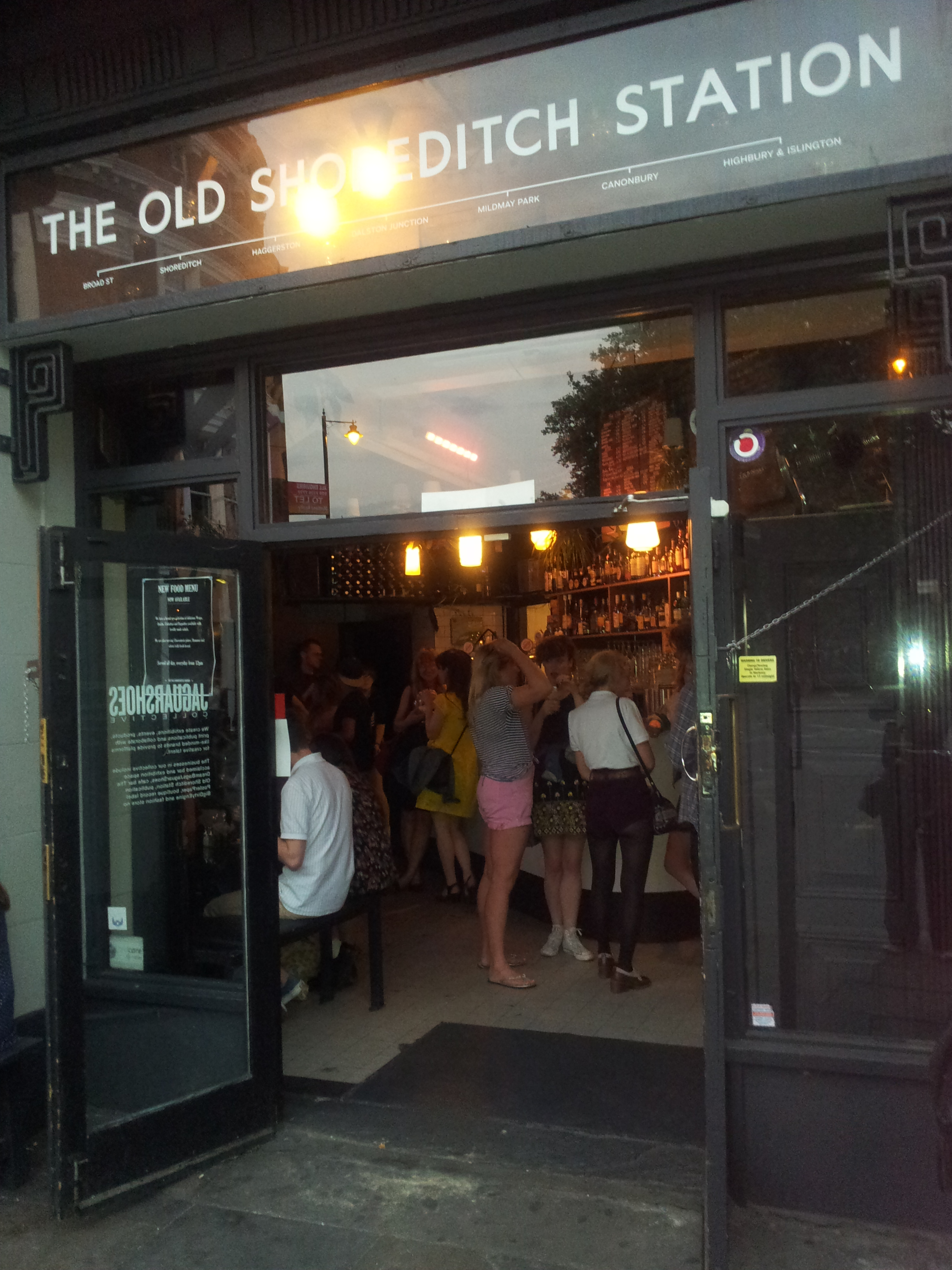 Shoreditch Station: Wandering In East London, Discovering Sushisamba And