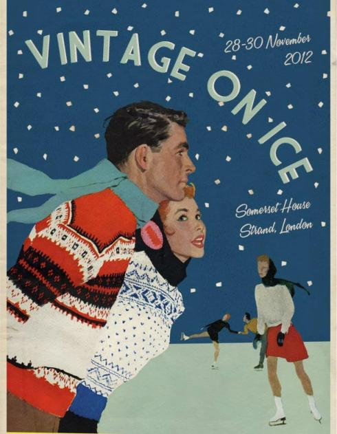 Vintage on Ice Somerset House