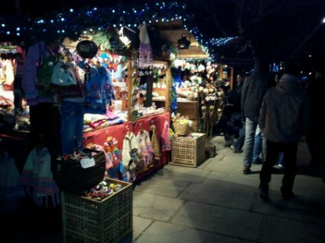 Christmas Market Southbank