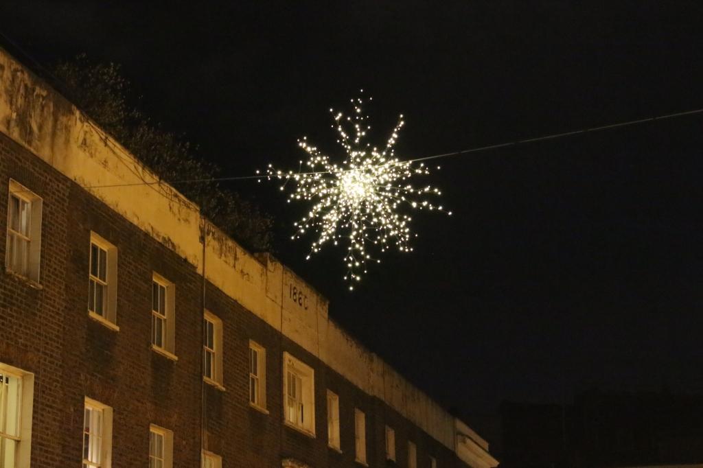 Star lighting Shepherds Market