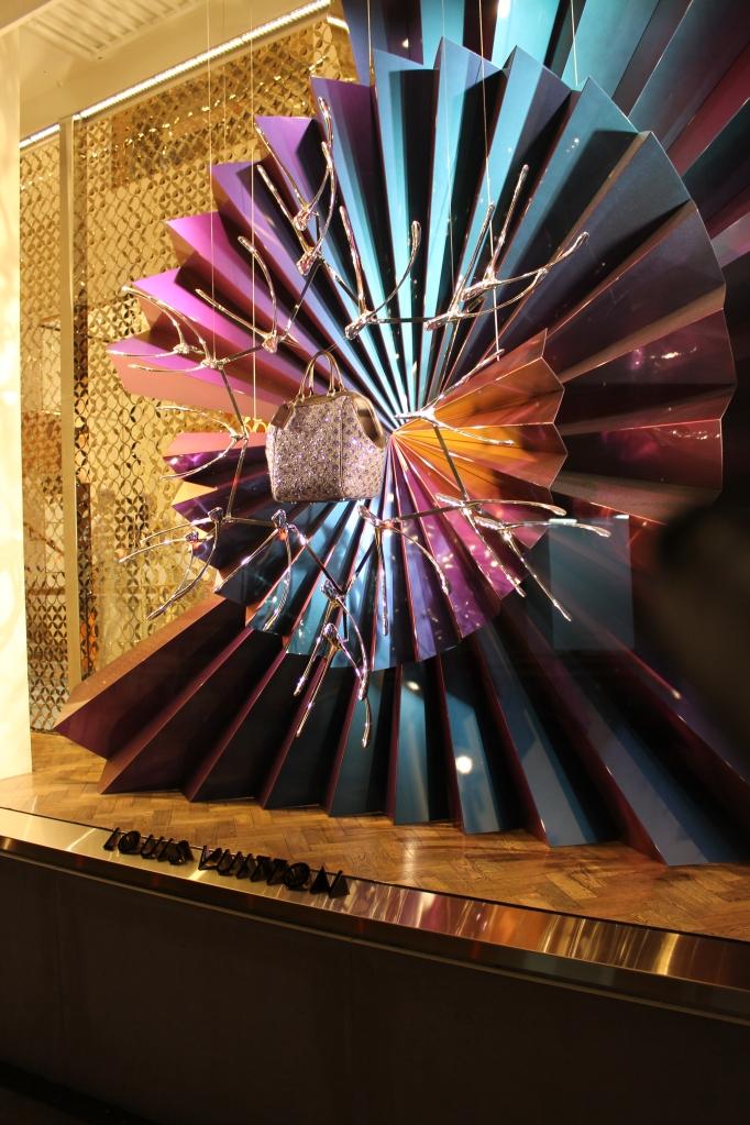 Louis Vuitton Christmas window