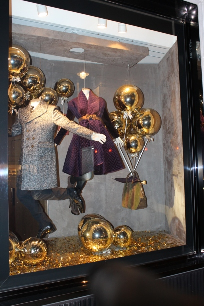 Burberry Christmas Window
