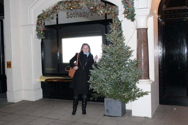 Missy S Outside Sothebys Old Bond Street