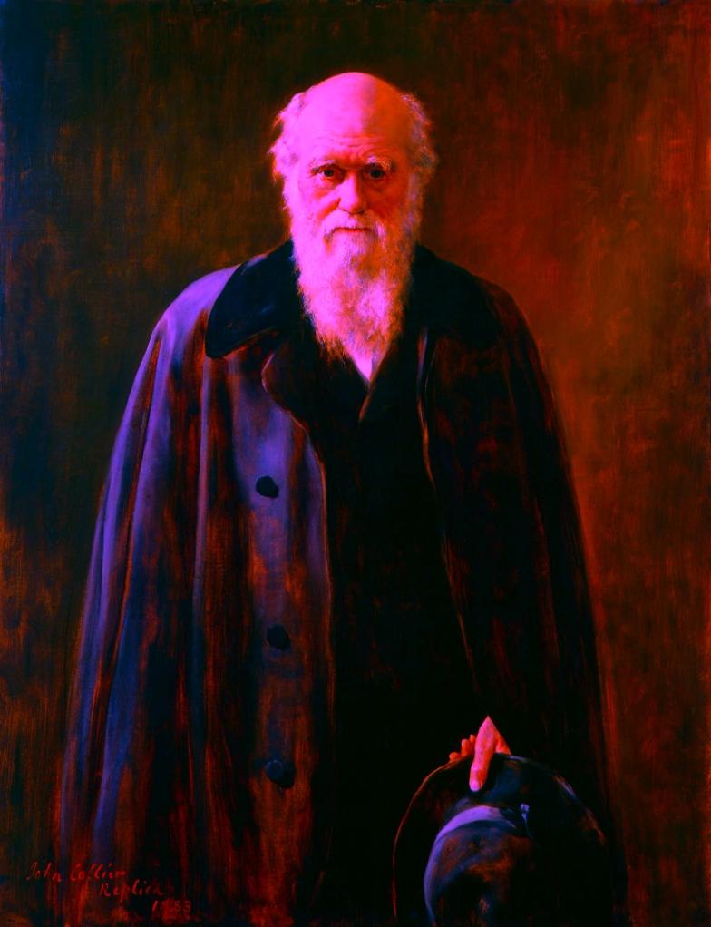 Darwin recoloured