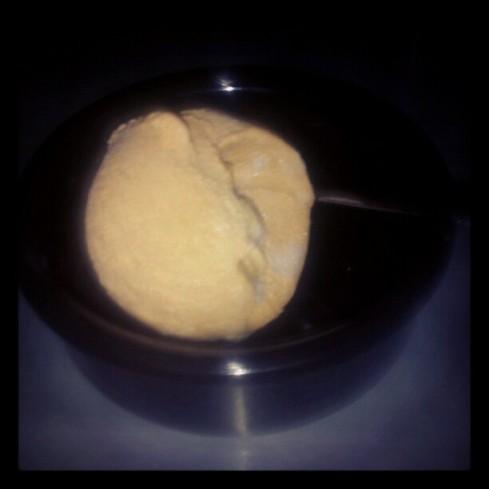 salted caramel ice cream  from Jude's in Devon