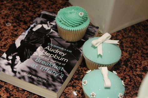 Tiffany blue cupcakes