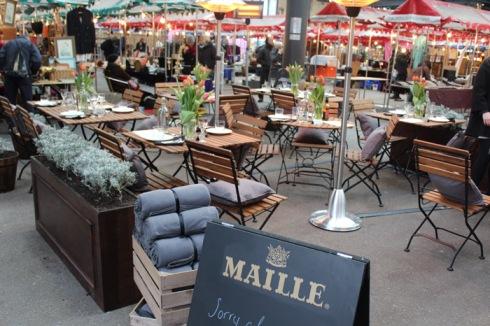 Maille's Le drunch restaurant