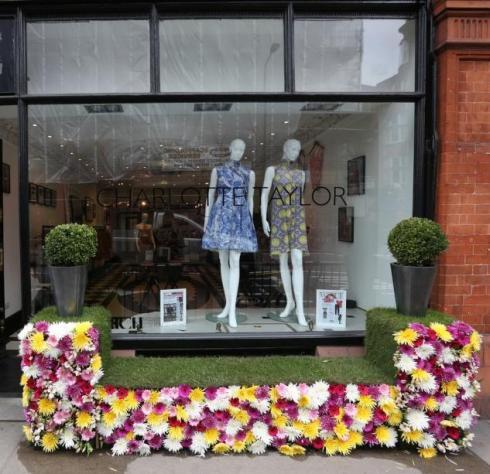 Charlotte Taylor Floral display