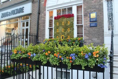 Savills floral display
