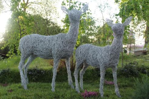 Steel Sculpttures by Laura Antebi
