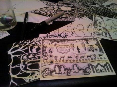 Holly Maslen's Illustrations