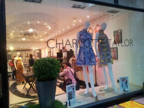 Charlotte Taylor Pop up shop