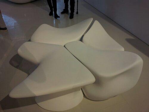 Interlocking Nekton stool