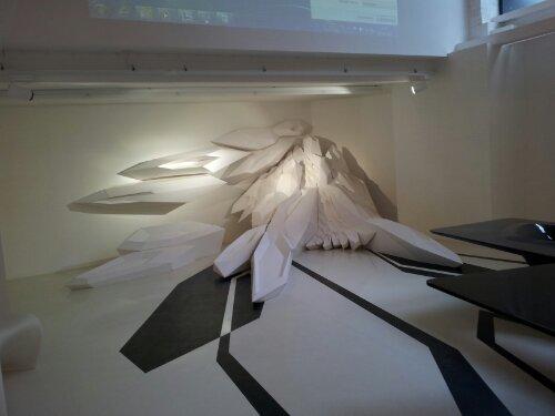 Zaha Hadid sculpture