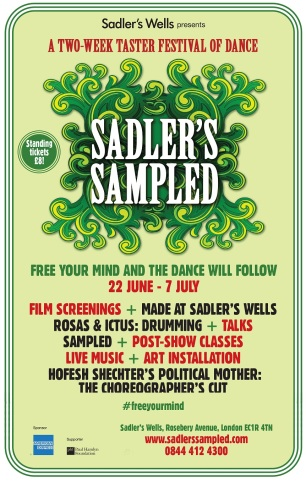 Sadler's Sampled festival poster