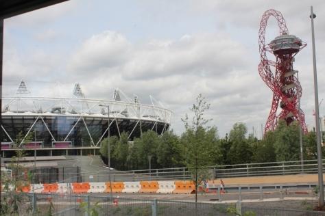 view of olympic stadium