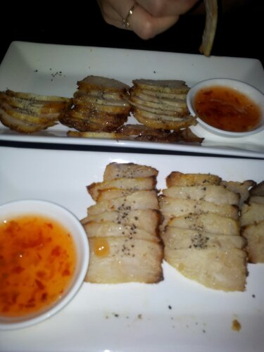 Grilled Crocodile and spicy chilli sauce