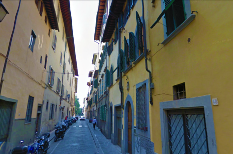 Our Street in Santo Spirito