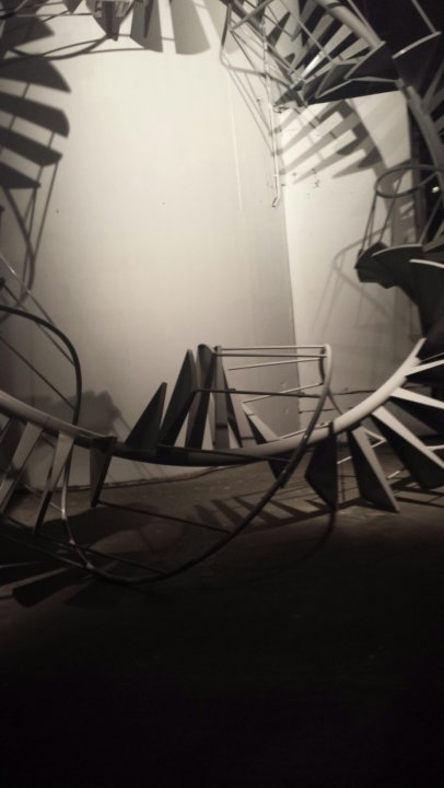 Untitled (Spiral Staircase)' by Peter Coffin