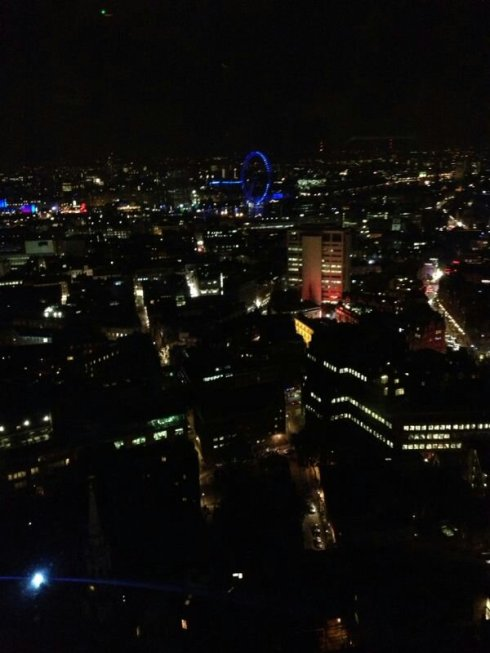 views of london from The Paramount