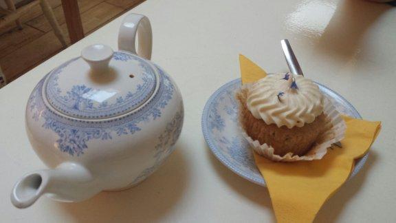 Earl Grey and Lemon cupcakes.
