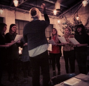 Bistrotheque house choir