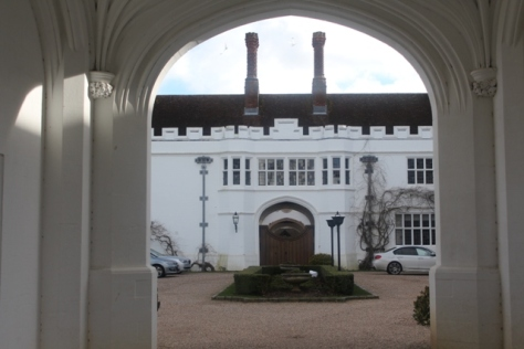 Daanesfield House and Spa Courtyard